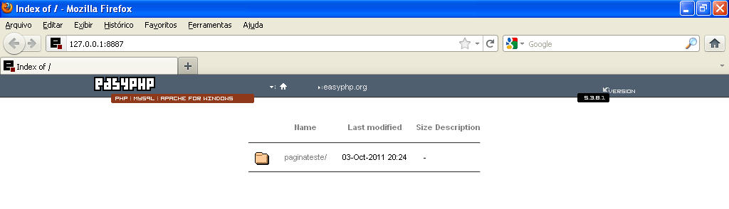 easy php 5.3.8.1